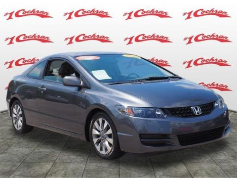 Pre-Owned 2010 Honda Civic EX-L FWD 2D Coupe