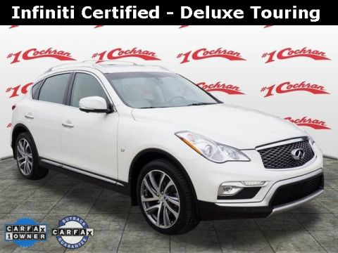 Certified Pre-Owned 2017 INFINITI QX50 Deluxe Touring