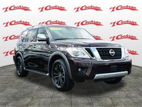 Pre-Owned 2018 Nissan Armada Platinum AWD With Navigation