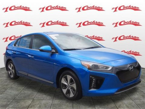 Certified Pre-Owned 2017 Hyundai Ioniq EV Limited FWD 4D Hatchback