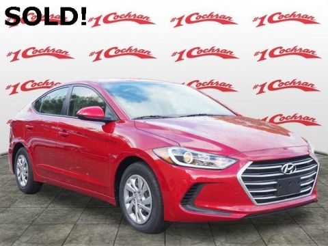 Certified Pre-Owned 2017 Hyundai Elantra SE FWD 4D Sedan