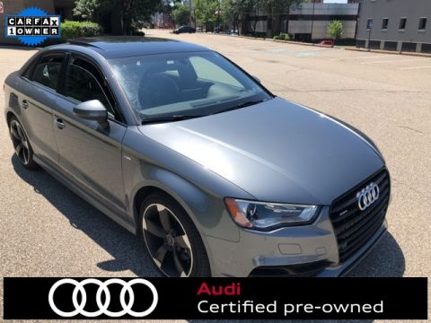 Certified Pre-Owned 2016 Audi A3 2.0T Premium