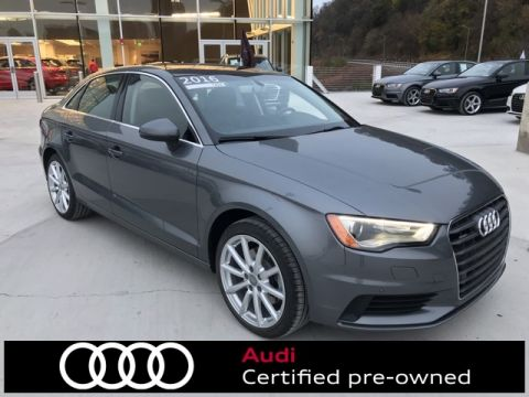 Certified Pre-Owned 2016 Audi A3 2.0T Premium Plus quattro 4D Sedan