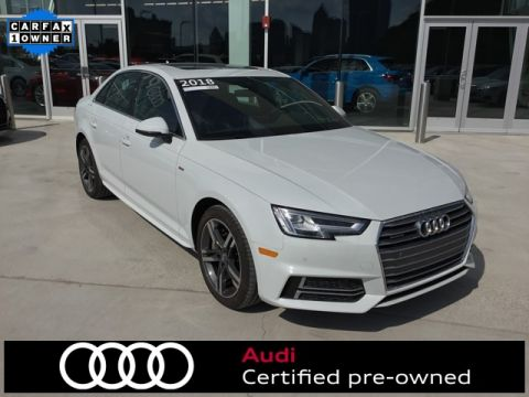 Certified Pre-Owned 2018 Audi A4 2.0T Premium Plus