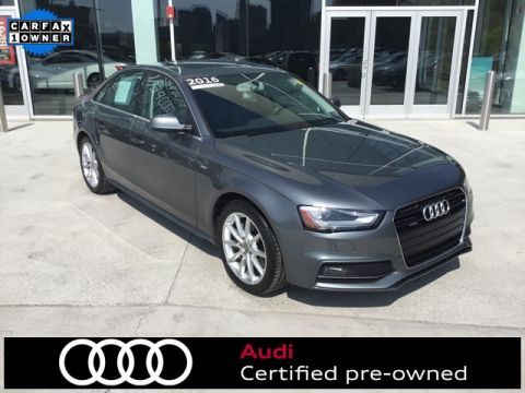 Certified Pre-Owned 2016 Audi A4 2.0T Premium Plus